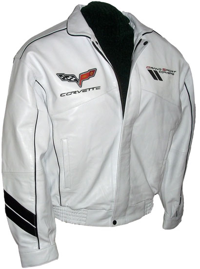 Skinnjacka Corvette Grand Sport_2