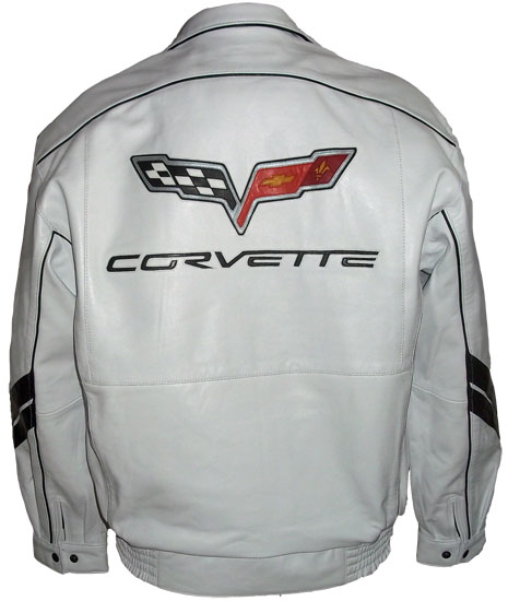 Skinnjacka Corvette Grand Sport_1