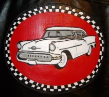 Vit Oldsmobile